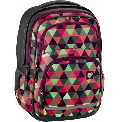 HAMA ALL OUT plecak szkolny BLABY Happy Triangle, 001383050000