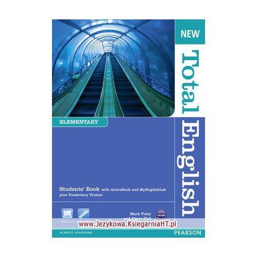 New Total English Elementary Podręcznik + Myenglishlab (160 str.)