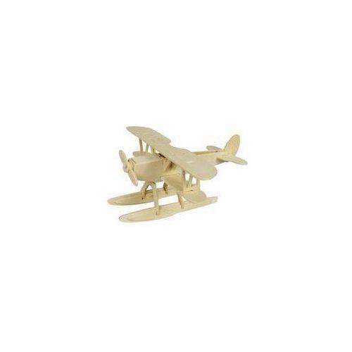 Puzzle drewniane 3D Wodnosamolot  6946785101355