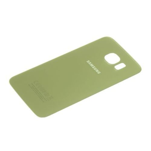 Klapka baterii galaxy s6 oryginalna grade b złota - złoty / gold \ grade b marki Samsung