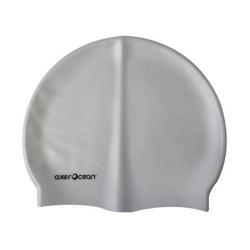 Czepek pływacki AXER A2976 Ocean Srebrny