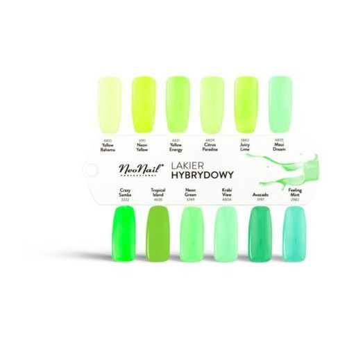 Uv gel polish color lakier hybrydowy 3197 avocado 6ml - marki Neonail