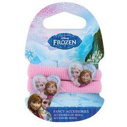 princess gumki bawełniane do włosów w kształcie serca wyprodukowany przez Frozen