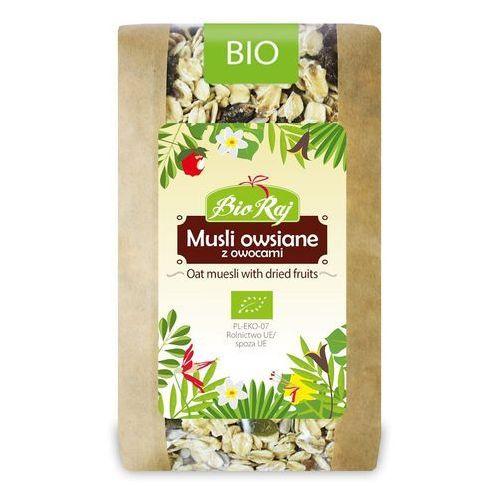 Bio raj (konfekcjonowane) Musli owsiane z owocami bio 300 g - bio raj (5902983782889)