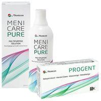 Zestaw menicare pure 250ml + progent 5 dawek marki Menicon