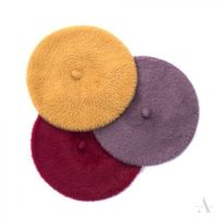 Beret art of polo 19526 elegant softness rozmiar: 56-58cm, kolor: ecru, art of polo