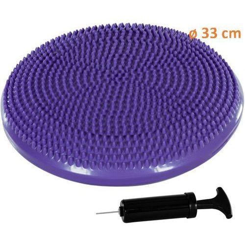 Poduszka do ćwiczeń równoważnych MOVIT Ø 33 cm fioletowa