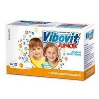 Vibovit Junior o smaku pomarańowym, 44 saszetki - Długi termin ważności! DARMOWA DOSTAWA od 39,99zł do 2kg! (5900004074241)