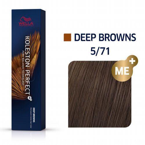 koleston perfect me+   trwała farba do włosów 5/71 60ml marki Wella