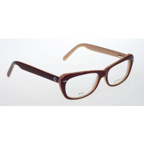 Lorenzo conti Oprawki okularowe lorenzo b754 c3 brązowo-brzoskwiniowe
