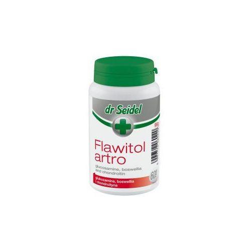 Tabletki Flawitol ARTRO witaminy dla psów 60 tabletek