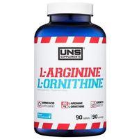 Suplement pompujący UNS L-Arginine & L-Ornithine 90 tab Najlepszy produkt