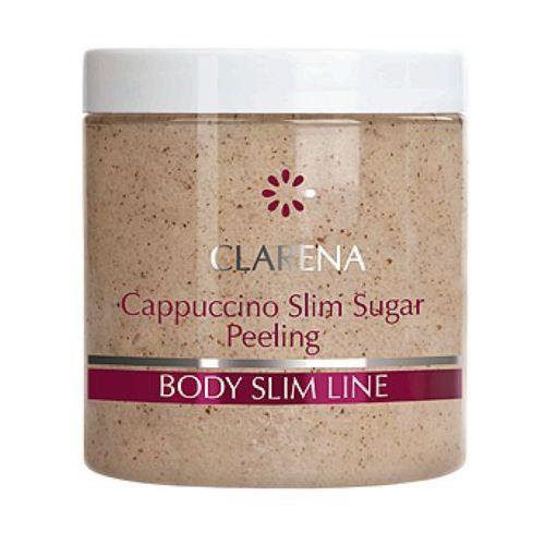Clarena cappuccino slim sugar peeling wyszczuplający peeling kawowy (4404) - Najlepsza oferta