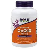 Koenzym Q10+ Lecytyna sojowa + Witamina E 200mg 90 tabletek do ssania