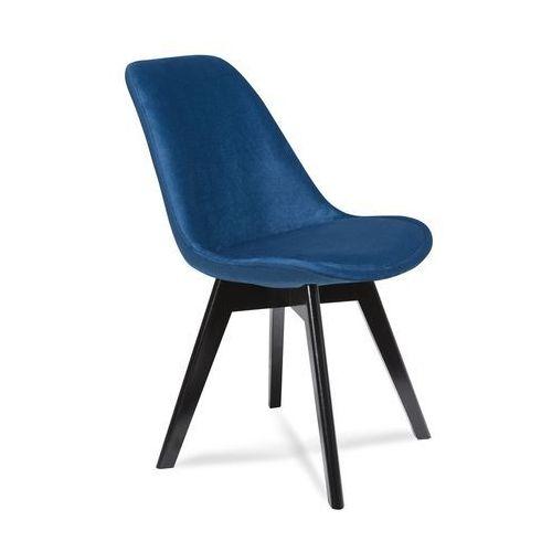 Krzesło Fagio Black Granatowe Granatowy 9design
