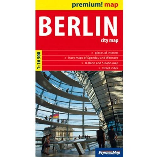 Berlin City Map 1:16 500 (9788375461848)