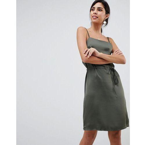 f4205713c3 Oh My Love Satin Cami Mini Dress - Green