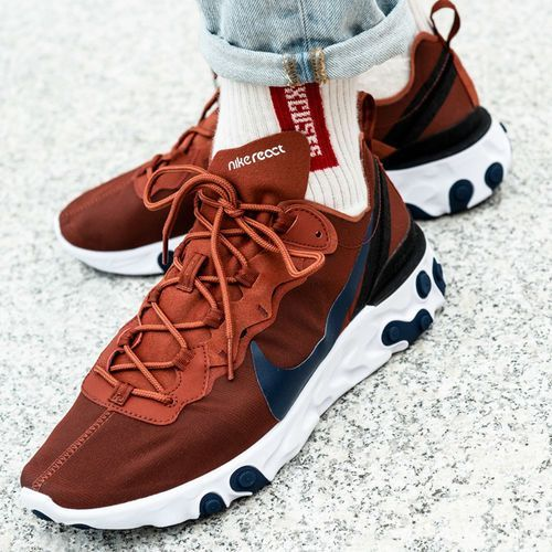 Nike React Element 55 (BQ6166-600), kolor czerwony