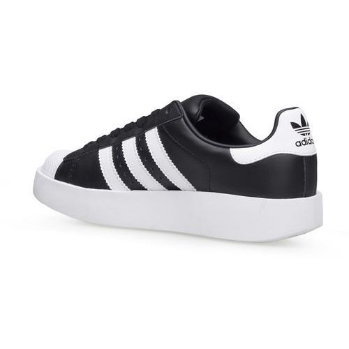 Adidas Originals SUPERSTAR BOLD Tenisówki i Trampki core black/white/gold metallic