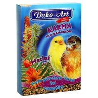 maciuś lux - pełnowartościowy pokarm z tranem dla kanarków 1kg marki Dako-art