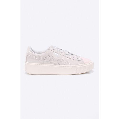 - buty dziecięce suede platform glam marki Puma