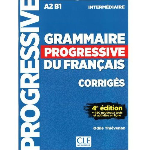 Grammaire progressive niveau interme.A2 B1 4ed klucz - Odile Thievenaz (9782090381047)