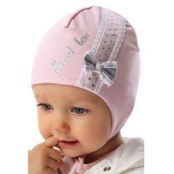 Marika Czapka niemowlęca wiązana 5x34ap