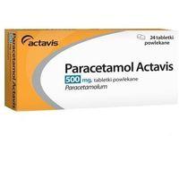 Tabletki Paracetamol Actavis 500mg x 24 tabletki