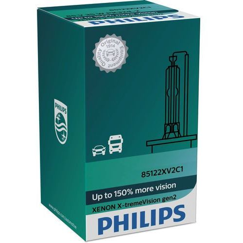 Philips Żarówka samochodowa ksenonowa xenon x-tremevision 85415xv2c1 d1s pk32d-2/35w/85v