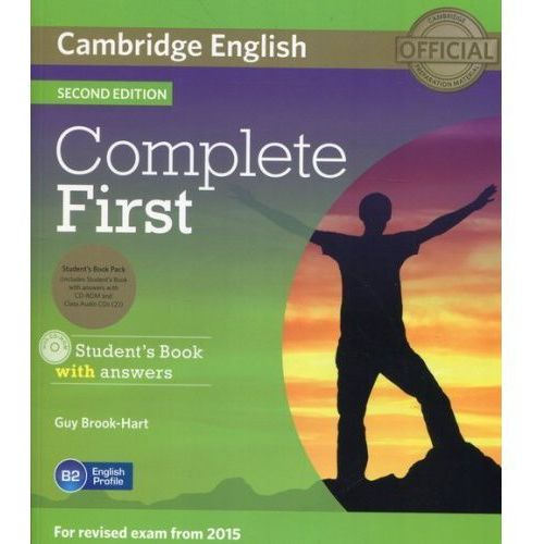Complete First Student's Book with answers + 3CD - Guy Brook-Hart, Guy Brook-Hart