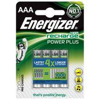 Energizer  akumulator power plus, aaa, hr03, 1,2v, 700mah, 4szt. szybka dostawa! darmowy odbiór w 20 miastach! (7638900417005)