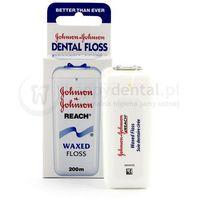 Johnson & johnson Johnson and johnson reach dental floss 200m - klasyczna nić dentystyczna - długa rolka