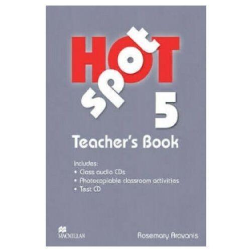 Hot Spot Level 5:: Teacher's Book + Test Cd Pack + Audio Cd (9780230408807)
