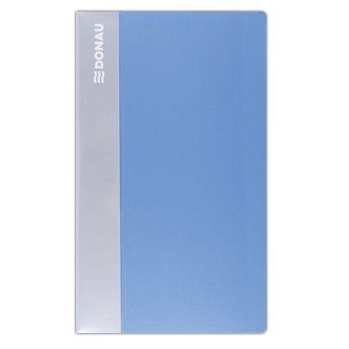 Wizytownik DONAU, PP, na 240 wizytówek, jasnoniebieski