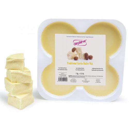 Depileve TRADITIONAL KARITE BUTTER WAX Wosk tradycyjny - masło karite (500 g.) - Znakomita przecena