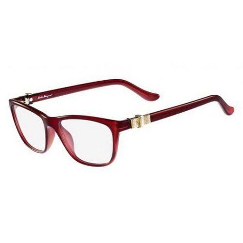 Salvatore ferragamo Okulary korekcyjne sf 2728 606