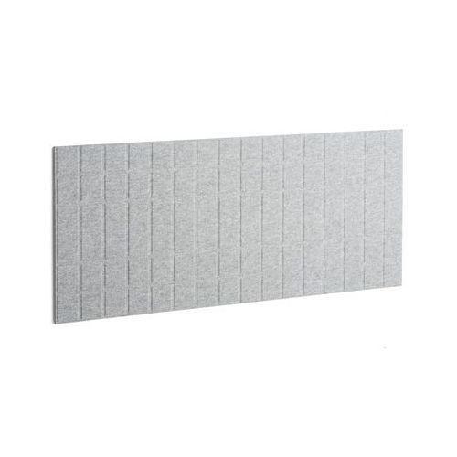 Panel dźwiękochłonny SPLIT, 1600x600 mm, jasnoszary, 124101