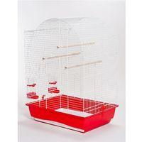 Akinu klatka dla ptaków elizabeth biała 54x39x71cm (8595184936549)