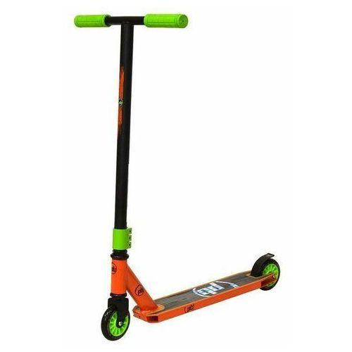 Hulajnoga stunt scratch zielono-pomarańczowa - zielono-pomarańczowy marki Powerblade
