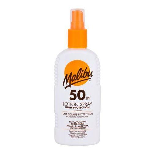 Malibu lotion spray spf50 preparat do opalania ciała 200 ml unisex - Znakomita obniżka