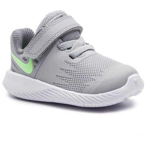 Nike Buty - star runner (tdv) 907255 008 wolf grey/lime blast/cool grey