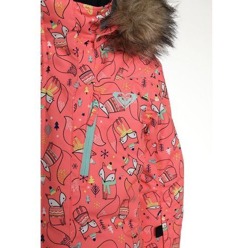 Roxy paradise kombinezon zimowy neon grapefruit foxes