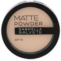 Gabriella Salvete Matte Powder SPF15 puder 8 g dla kobiet 02, 74785