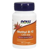 Tabletki Now Foods Witamina Methyl B-12 1,000mcg 100 tabletek