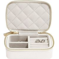 Pudełko podróżne na biżuterię loves luxury białe