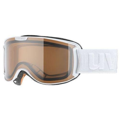 Gogle z polaryzacją skyper pola biały marki Uvex