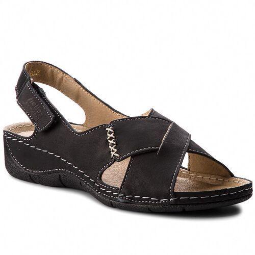 Sandały - 229-1 czarny, Helios, 36-41