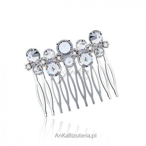 Anka biżuteria Ankabizuteria.pl grzebień do włosów z kryształkami - bardzo modny w tym sezonie.