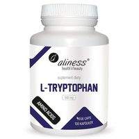 Aliness - L-Tryptophan 500mg - 100caps