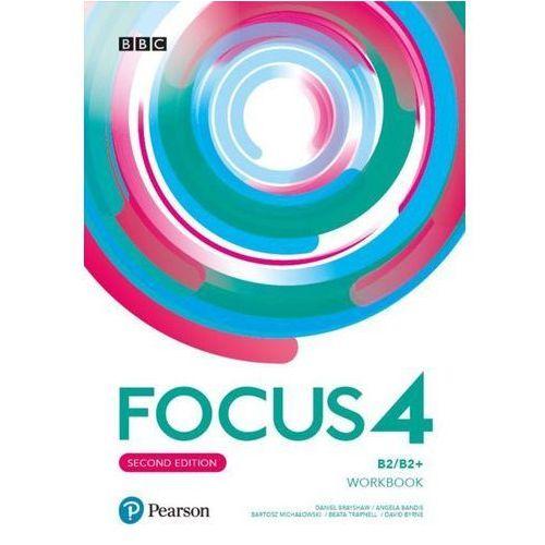 Focus Second Edition 4 Workbook + Online Practice - Praca Zbiorowa (9788378827559)